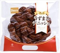うずまきデニッシュ チョコ