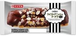 ツイストデニッシュドーナツ(チョコ)