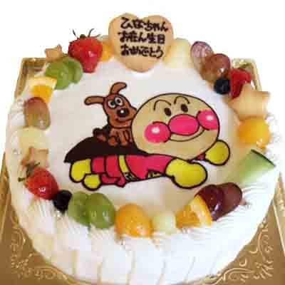 アンパンマンの鶏卵不使用ケーキ