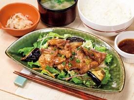 牛カルビのサラダ仕立て定食ランチ