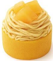 やさしい豆乳スイーツ さつまいもとりんごのモンブラン