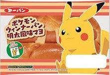 ポケモン ウィンナーパン 明太風味マヨ