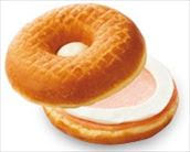 セイボリーサンド ドーナツ ハムチーズ