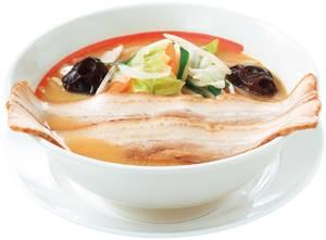 味噌野菜らーめんプレミアム 740円