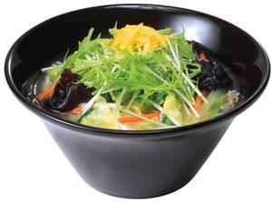 ゆず塩野菜らーめん 580円