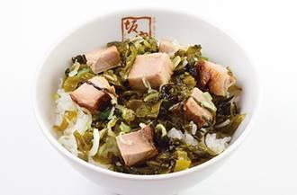 高菜焼豚ご飯
