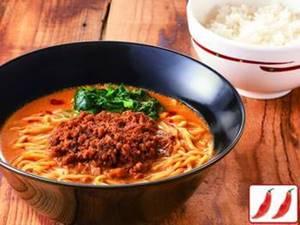 ピリ辛肉味噌担担麺&ご飯セット