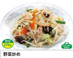 「満州」野菜炒め